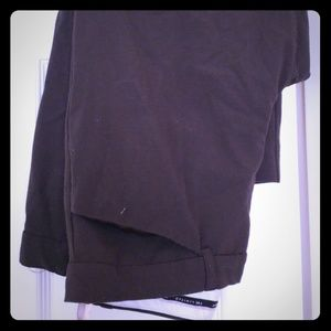 Limited brown trousers